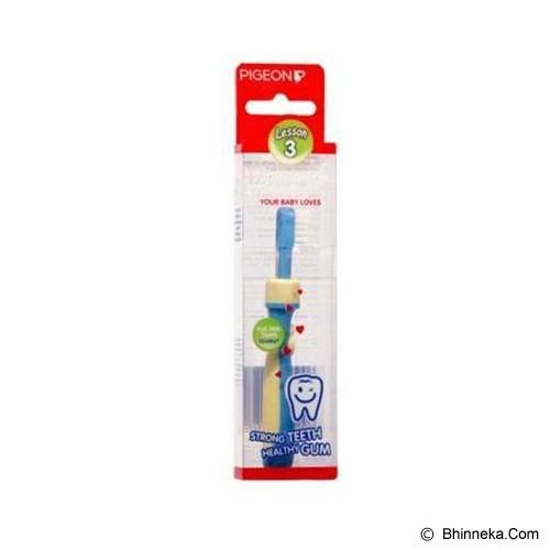 PIGEON Training Toothbrush L-3 [PR050507] - Blue - Sikat Gigi Bayi dan Anak